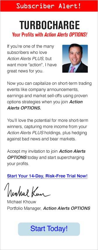 TURBOCHARGE. Your Profits with Action Alerts OPTIONS!