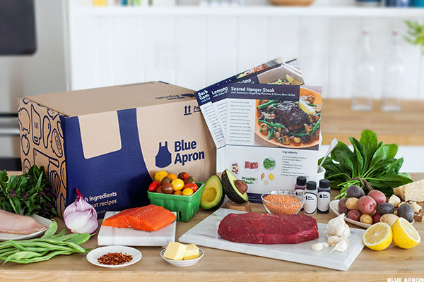 Blue apron takes on amazon and walmart with unique recipe for Unique meals