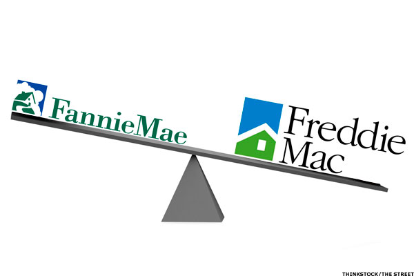 Fannie Mae And Freddie Drop 39 Over Two Days Thestreet