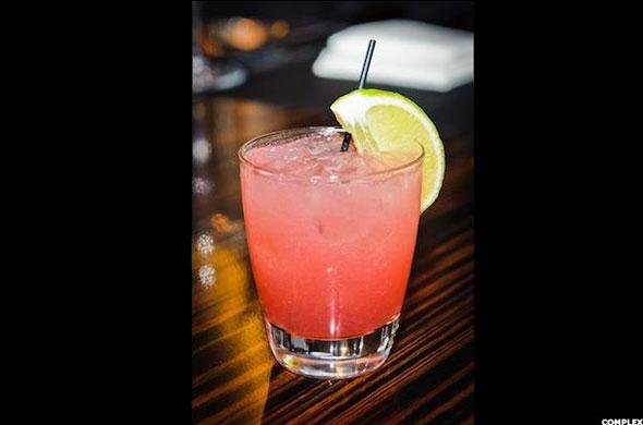 Tequila Drink #2:  El Diablo