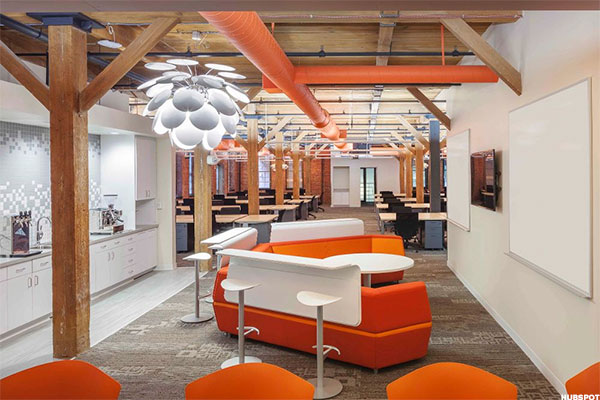 Beyond google and facebook 10 other cool places to work for Unique office spaces