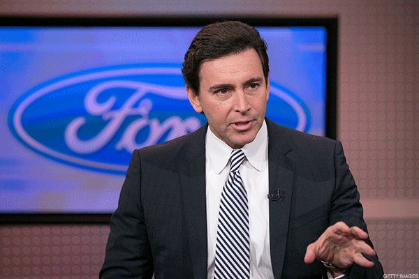 Mark Fields Ford CEO