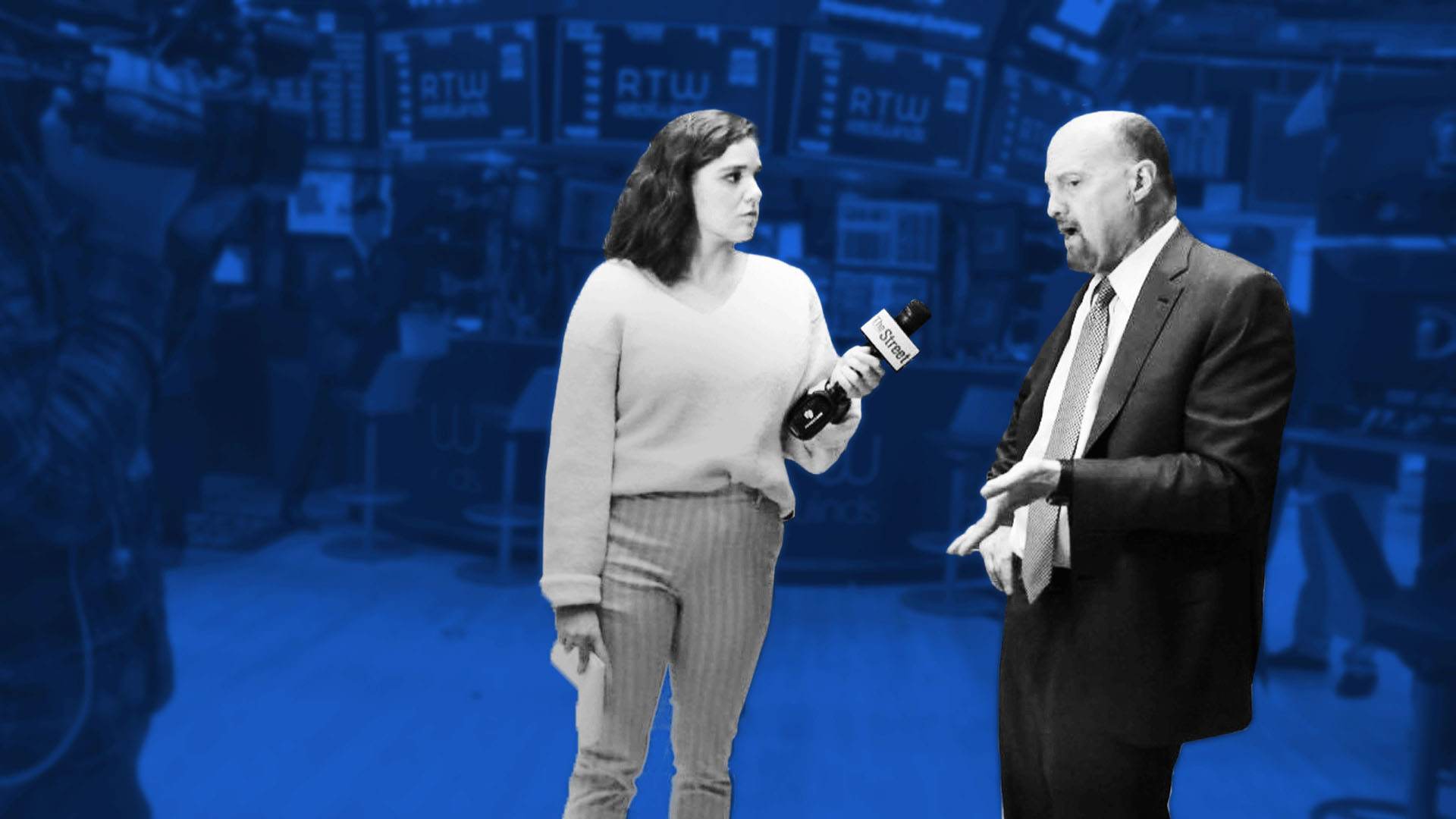 Got a Minute? Jim Cramer Breaks Down the Markets and Ticker Tape