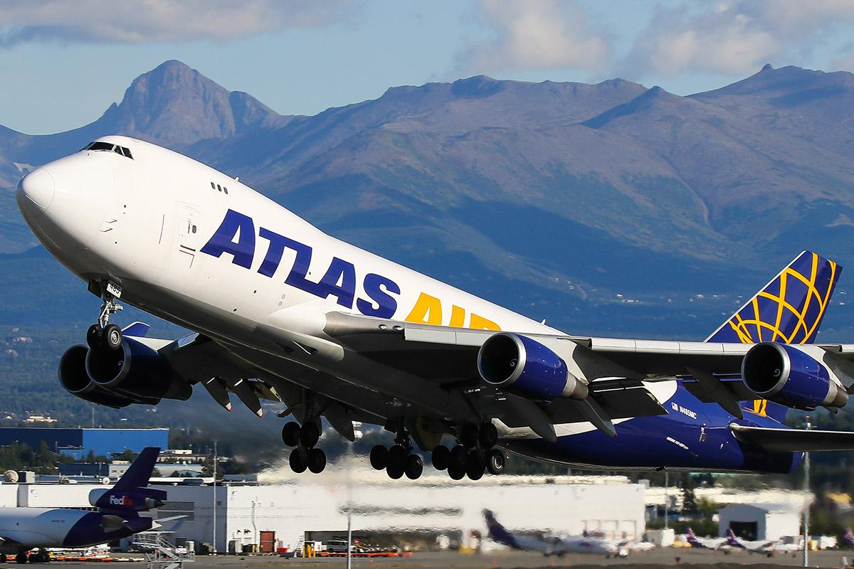 Atlas Air Stock Tumbles After Plane Hauling Cargo for Amazon