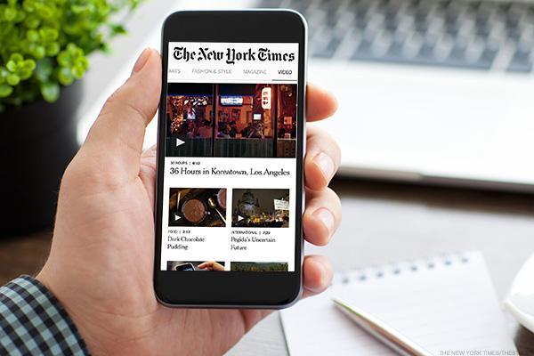 New York Times posts 4Q profit