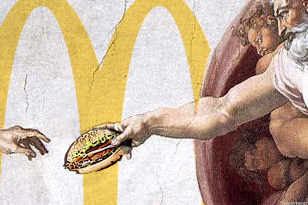McDonald's Opens Near the Vatican, Further Proving Nothing Is Sacred