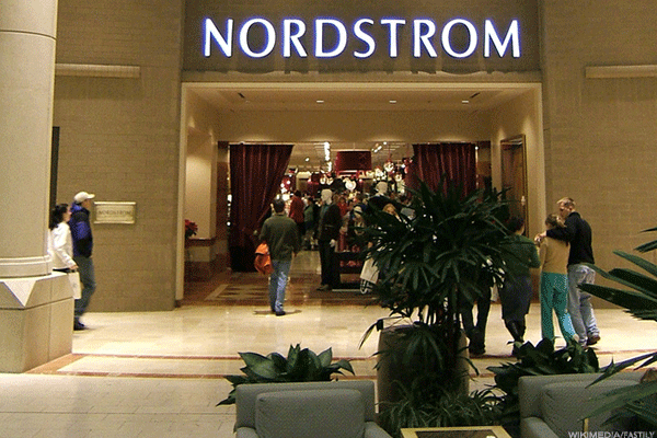 Nordstrom Inc. (JWN) has a Market value of 7.45 Billion