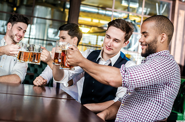 happy hour at work It may be that 3-martini business lunches aren't the norm anymore, but many of today's companies see some value in gathering the staff for an end-of-week drink what's happy hour like at food & wine or saveur.