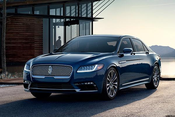 10 Best Luxury Cars Under 35 000 2016: Ford's 2017 Lincoln Continental Priced $10,000 Below