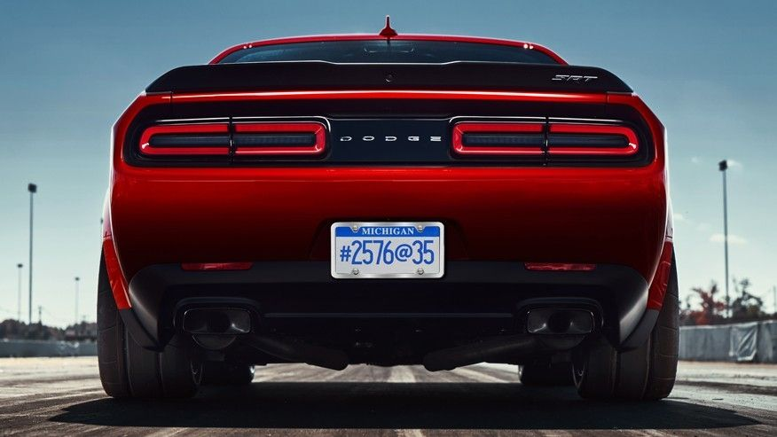Get A First Look At The Dodge Demon It Will Probably Be The