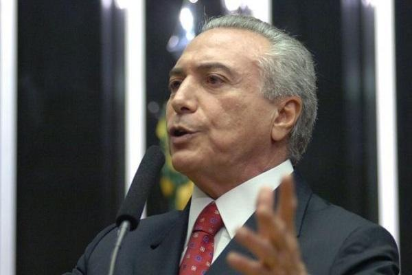 Under-fire Brazilian president 'will only leave office if forced out'