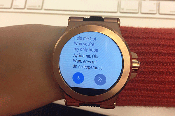 de2be3f477c6e This Female Really Wanted to Love the Stunning New Michael Kors Smartwatch  - TheStreet