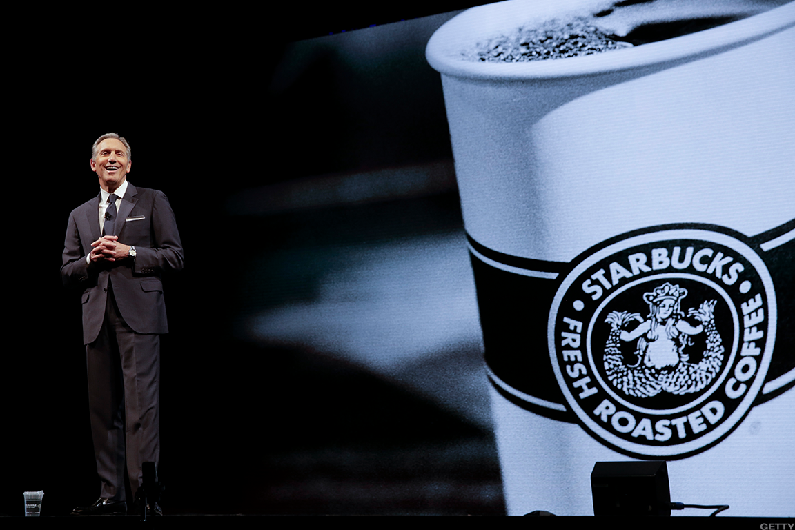 Howard Schultz Ditching Starbucks And Its Weak Stock Price Now