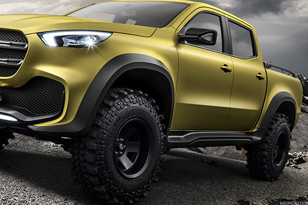 Mercedes-Benz's Luxury Ute Has Officially Arrived