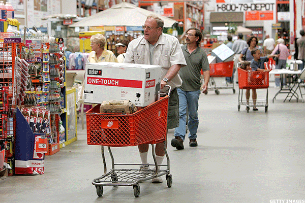 United States comparable sales strong for Home Depot