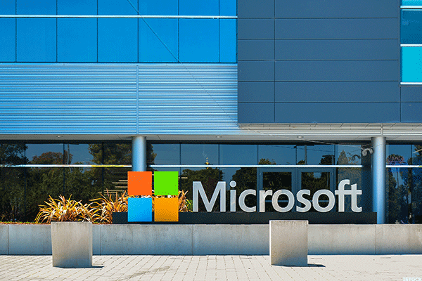 microsoft  msft  stock rises in after