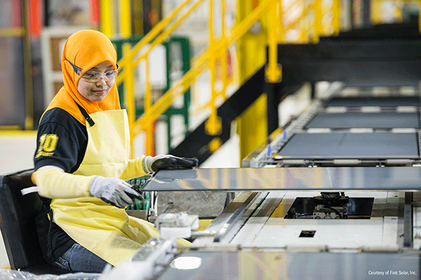 First Solar, Inc. (FSLR) Shares Up 5.1% After Better-Than-Expected Earnings