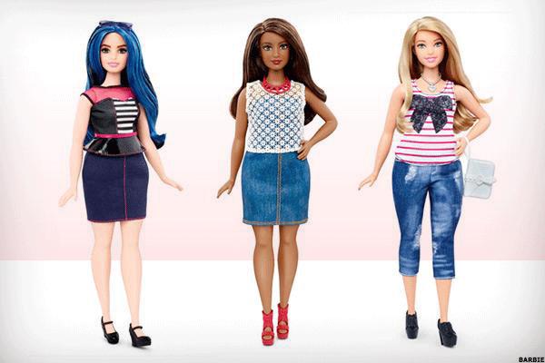 Mattel's Plus Size Barbie Steps Out, Sales Gains Expected - TheStreet