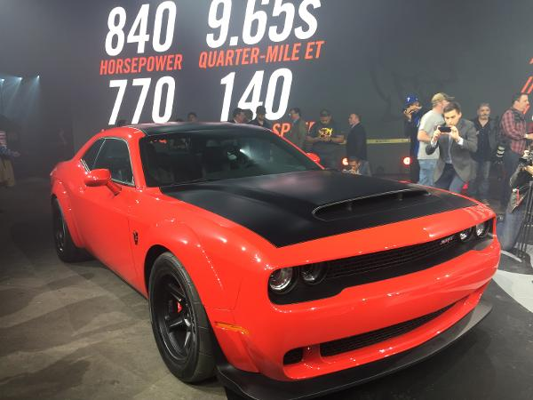 The Heart-Stopping 840 Horsepower Dodge Demon Won't Cost $100,000 - TheStreet