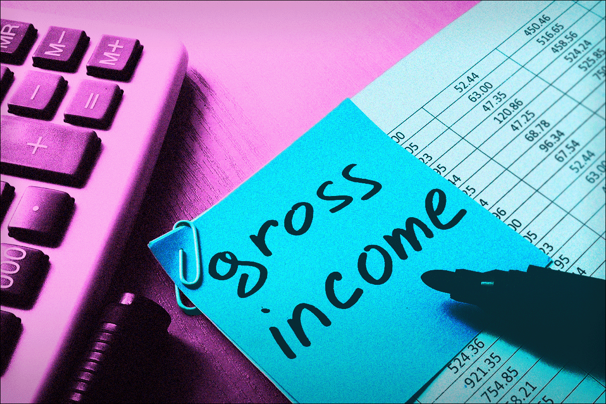 What Is Gross Income? Definition and How to Calculate - TheStreet