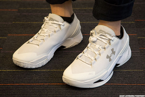 finest selection ef8e4 d0ba1 Under Armour's (UA) Chef Curry 2 Sneakers Bode Well for ...