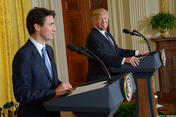 Trudeau defends supply management, wants 'fact' based trade talk with US