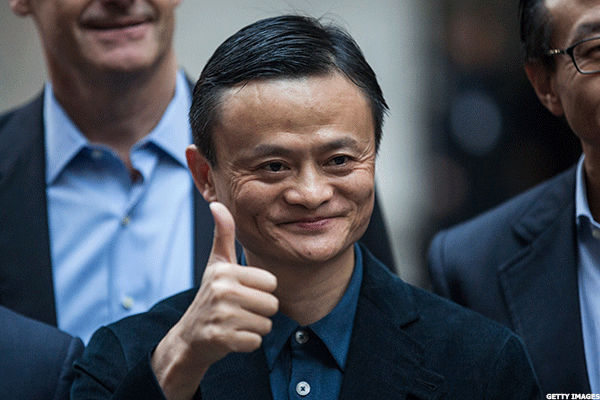 Alibaba shares surge on strong Revenue Guidance