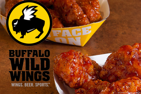 Buffalo Wild Wings is a sports bar featuring everything from wings to Buffalo Wild Wings Fan Fave Sauces - Parmesan Garlic, Honey BBQ, Asian Zing (3 - 16 oz Bottles Total) by Buffalo Wild Wings.