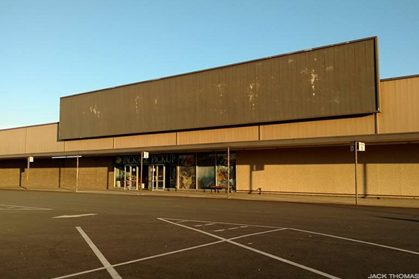 A closed Kmart store