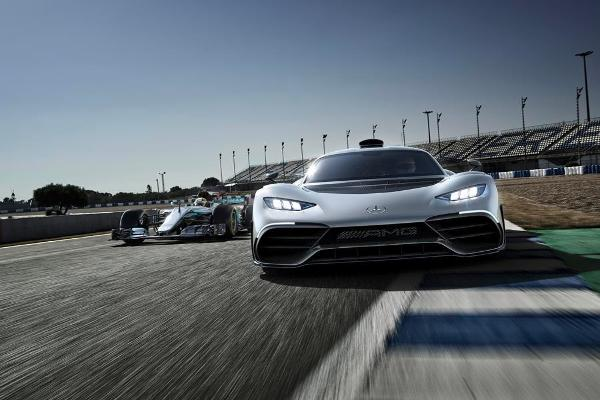 This is the Mercedes-AMG Project One