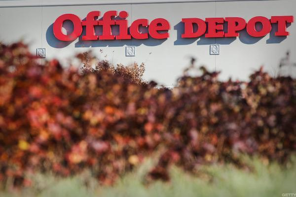Office Depot Inc (NASDAQ:ODP) 2016 Q4 Institutional Investor Sentiment Steady