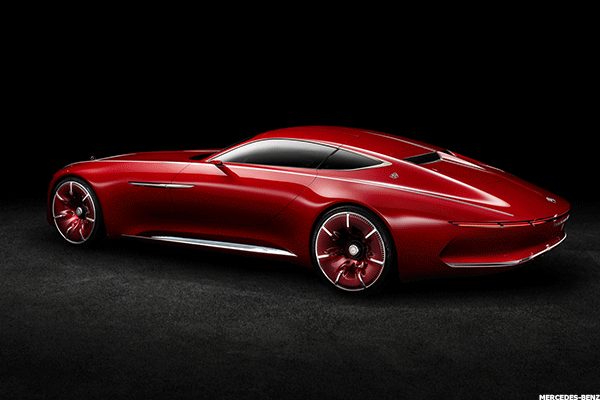 The Vision Mercedes Maybach 6 An Electric Luxury Car That Trumps