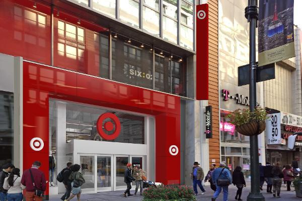 Target will open across from Macy's