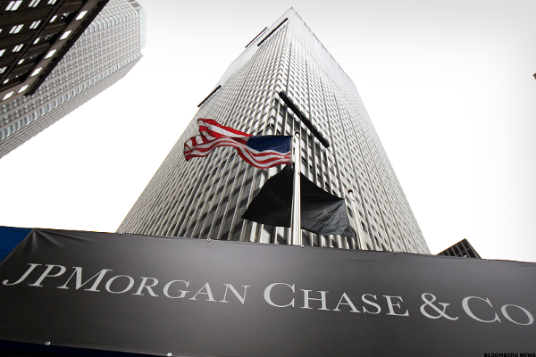 JP Morgan's Profit, Revenue Rise