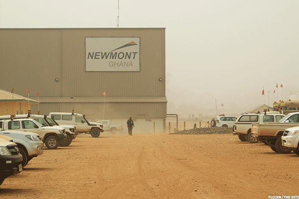 Newmont Mining Nem Spearheads Gold Gains Thestreet