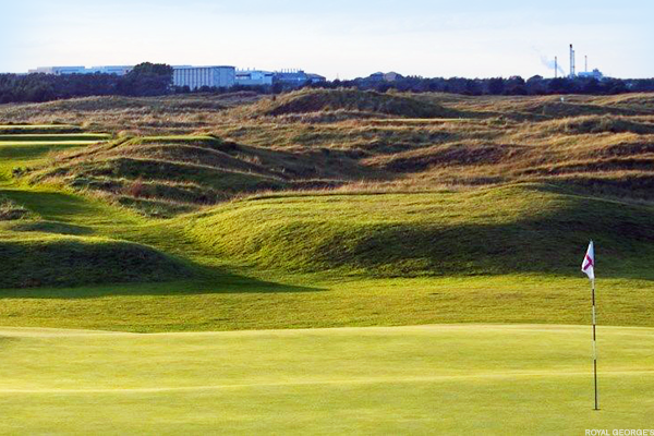 trump has a british open golf course you can play at for  400