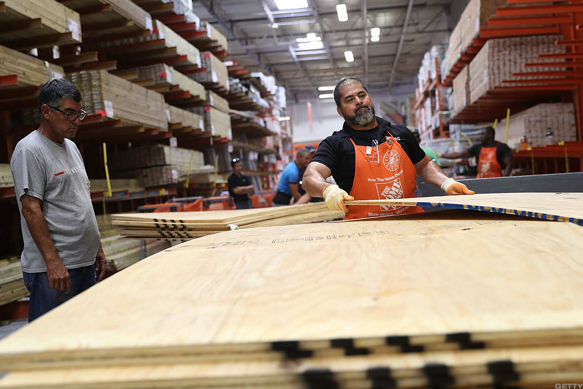 Home Depot CFO Says They Have Barrier Islands Around It That
