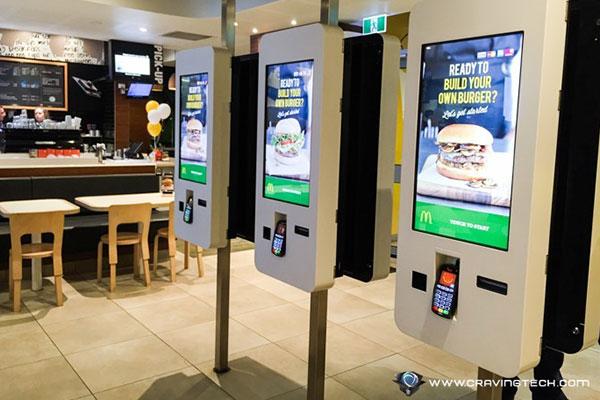 Automated Fast Food Kiosk