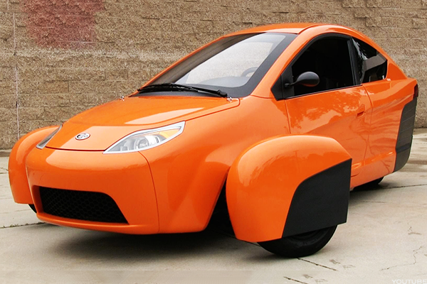 This Three Wheeled Vehicle Startup Called Elio Motors Is Really