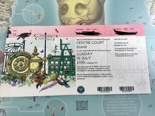 The face value of $250 belies the $8,500 value on the black market for a ticket to Sunday's men's final at Wimbledon.