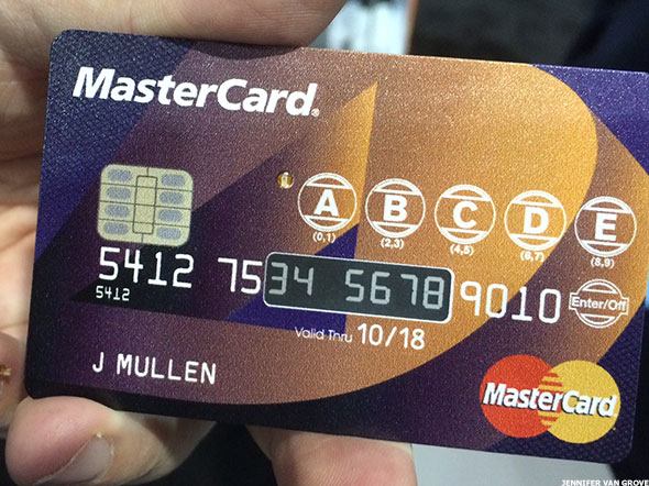 MasterCard Announces A Credit Card Even A Security Fanatic