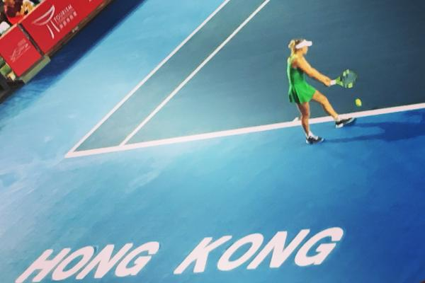 Form Wozniacki secures Hong Kong Open