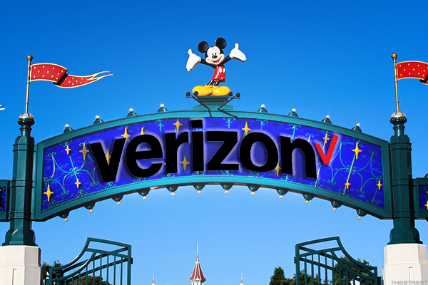 Disney Stock Closes Up As Rumors of Verizon Buyout Swirl