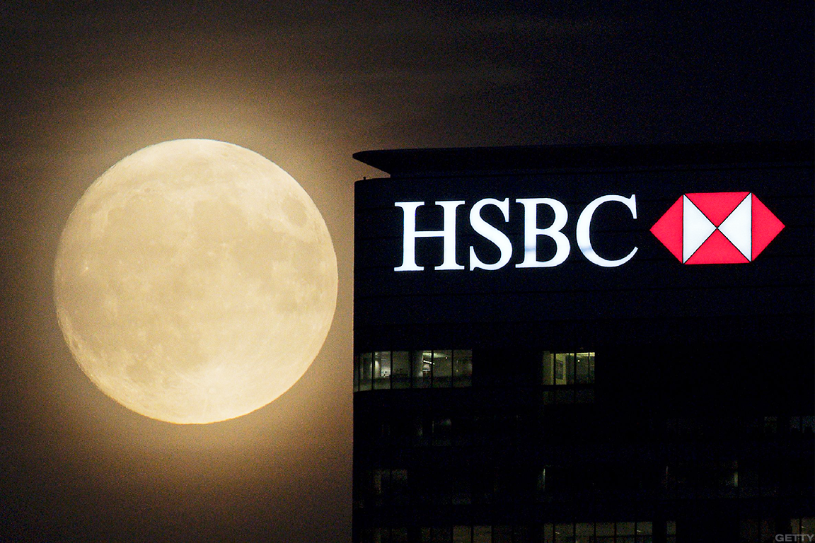 HSBC Shares Slide After 2018 Profit Miss Tests Bank's Asia
