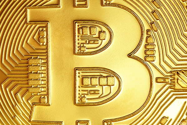 B is for Bitcoin.