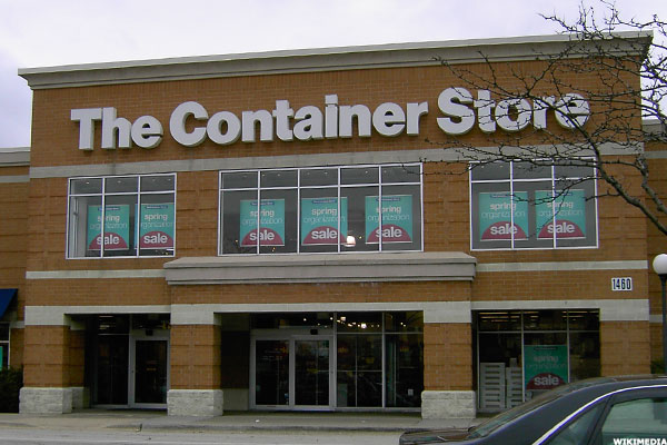 Container store stock options