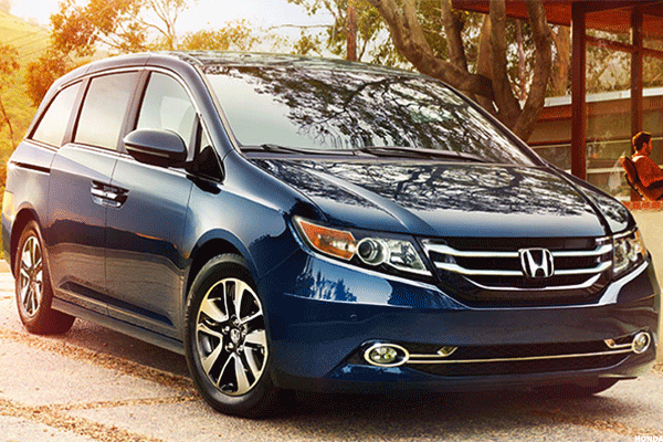 Honda recalling more than 640K Odyssey vehicles for seat locking issues