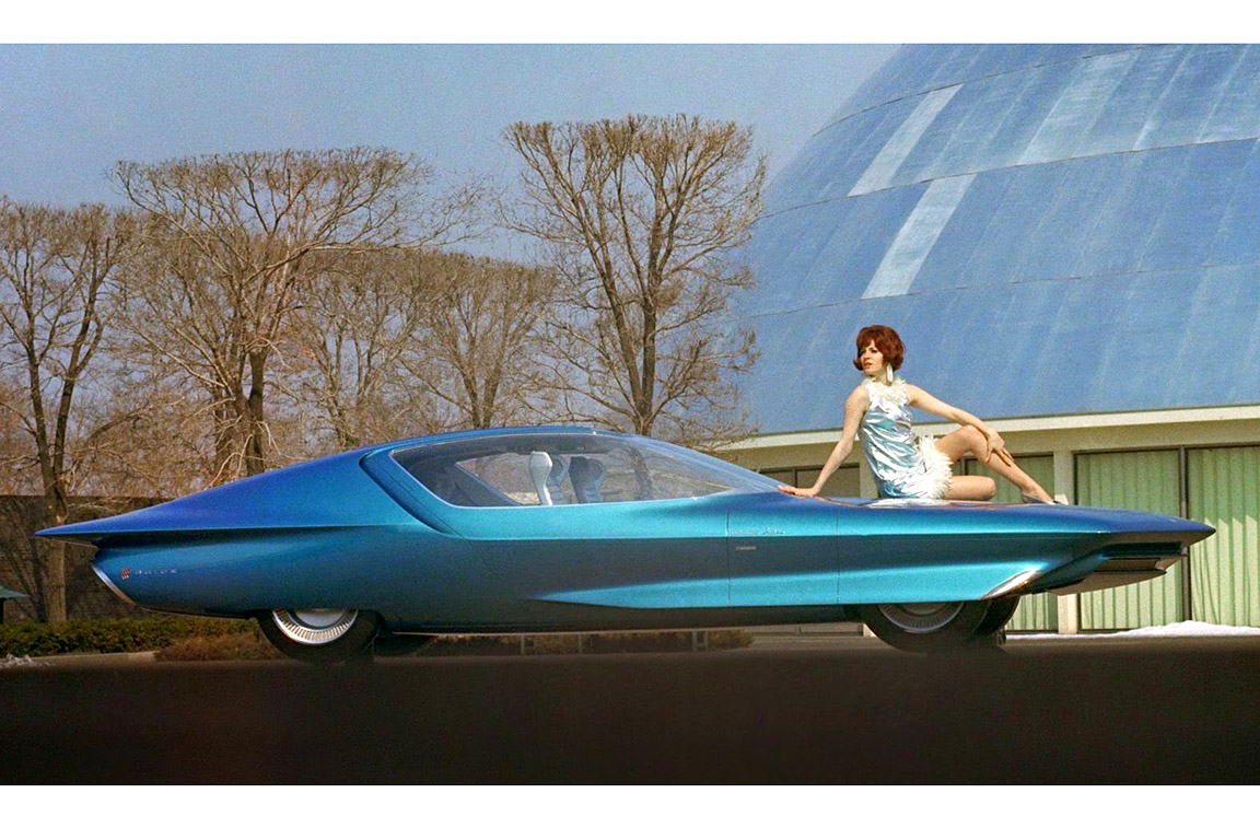30 Mind Blowing Concept Cars And Of The Future We Want To See 1950s Chrysler Built Thestreet