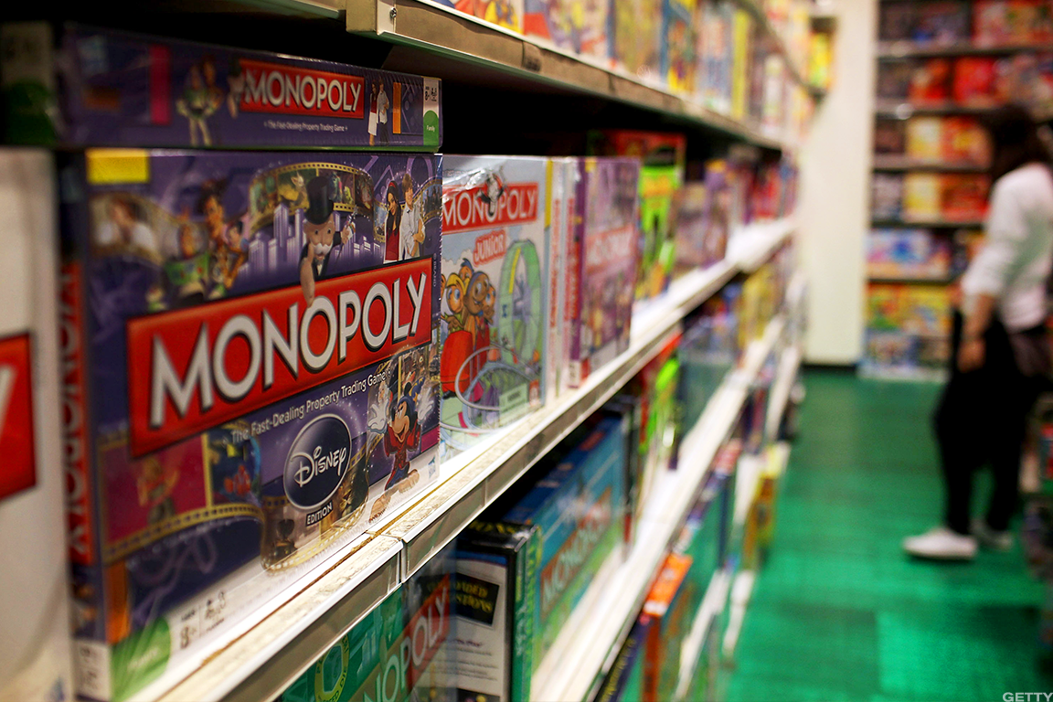 Hasbro Surges After Q2 Sales Beat, Upbeat Sector Outlook