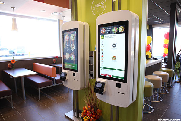 Mcdonald S Mcd Rolling Out Self Ordering Kiosks In